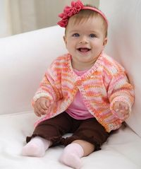 Easy Knit Baby-to-Toddler Cardi