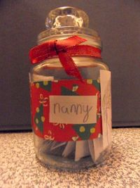 Creative Flourishes: Grandparents Gift in a Jar