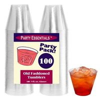 N910021 Clear 9 oz Tumblers, 100 ct. | Catering Supplies Depot