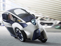 Toyota i-ROAD Electric Personal Mobility Concept