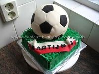 soccer ball cake...hey kimmer