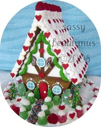 gingerbread house #gingerbread #gingerbreadhouse