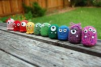 DIY Crochet Monster Pattern. Site also has other free patterns and patterns to buy.