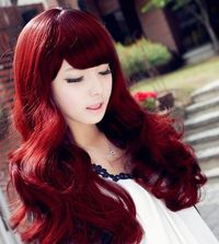 Maybe this hair color :D