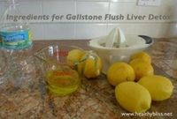 How to flush out gallstones without surgery!