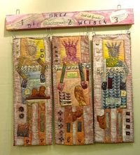 Sara Lechner's ....The Three Wise Men Epiphany, with some meditative words printed on them
