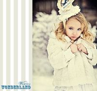 Wonderful Winter photo. Love the hat. Photo by Angie of Simplicity Photography