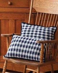 "Free pattern for ""Gingham Pillows""...Square & Rectangle versions!"