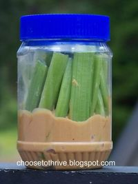 Instead of stopping at fast food restaurants on road trips, pack simple healthy snacks. We love this list of clever on-the-go bites - Click image to find more popular food & drink Pinterest pins