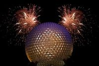 Hidden Mickey at EPCOT disney-disney-disney