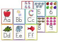Posts similar to: #DIY Vintage printable alphabet flashcards