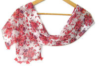 women scarf, chiffon scarf, scarves, multicolor, with lace new design shawl /neckwarmer / cowl, for woman