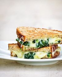 Spinach & Artichoke Grilled Cheese!