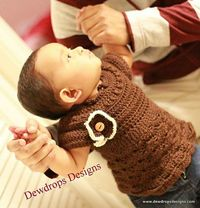 Ravelry: Dress with Flower pattern by Dewdrops Designs