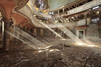 Abandoned - protestant temple. Looks like it was once magical!! Taken by fischefotografie.nl