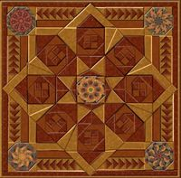 Autumn Sparkler Sunrise Kaleidoscope Quilt Kit