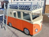 Micro-Bus Bunk Bed and Playhouse