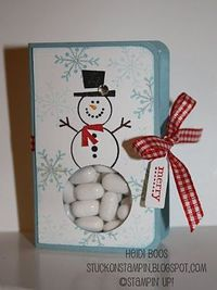 Stuck on Stampin': 12 days of Christmas {projects} - day 8 button buddies