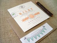 Sweet Silhouette Birth Announcements for Baby Riley by 42 Pressed