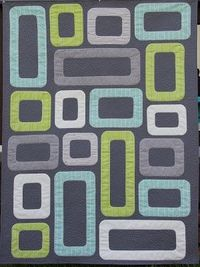 Ahhh...Quilting: Cinder Blocks Quilt, I so wish there was a pattern or tutorial for this!