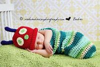 Caterpillar Cocoon Hat Photography Prop by CreativeDragonfly