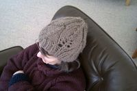 The Work is Getting to Me: Leafy hat pattern