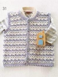 Posts Similar To Baby Boy Vest Free Crochet Pattern