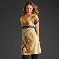 The Art of the Disney Princess Mulan Tunic by Disney Couture