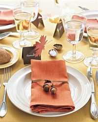 table setting - fall setting