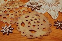 Tortilla Snowflakes - the kids at school will love this