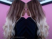 blonde-ombre-hair-color amazing