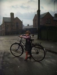 Girl with the bicyclephoto by Evelyn Hofer, Dublin, 1966