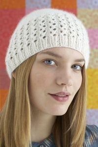 Lovely Lace Cap knitting pattern