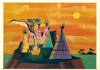 Indian Village Mary Blair