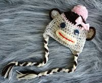 Girlie sock monkey
