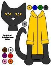 Image Result For Pete Cat Coloring Page Hq