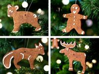 how to make cinnamon ornaments