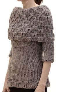 brambleberrycottage: Trellis Collar Sweater