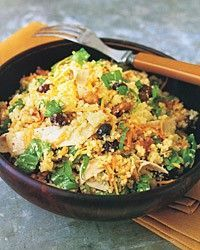Couscous Salad with Turkey and Arugula