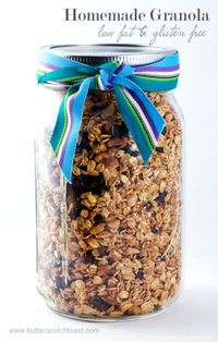 Low-Fat Granola, www.butterscotchtoast.com