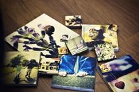 Picture tiles - fun and easy to make