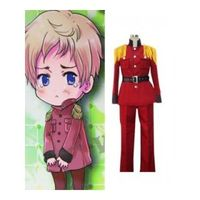 Axis Powers Hetalia Latvia Red Cosplay Costume