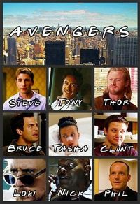 avengers/friends combo that cannot be beat