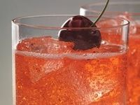Cherry Moon: GREY GOOSE® Cherry Noir, Lemon Lime Soda and Grenadine