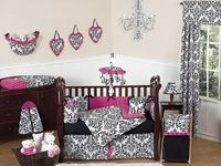 Love this bedding for a little girl!