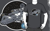 Star Wars Art: Nice and Blasphemous Star Trek and Star Wars Mashup T-Shirt