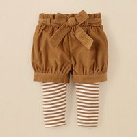 Corduroy shorts and leggings?! Violet will definitely be sporting these this fall.