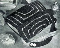 Crochet Bag No. 2789, pattern originally published by Clark's O.N.T. J Coats as Bags, Book 228.