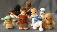 Mom, Ry wants these!:) Star Wars Stuffies