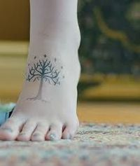 Tree of Gondor Lord of the Rings tattoo